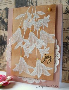 Jacqueline's Craft Nest: Etched Flower stamp