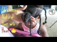 Natural Kids: Stretching Natural Hair WITHOUT Heat    African Threading   Protective Styles [Video] Read the article here - http://www.blackhairinformation.com/video-gallery/natural-kids-stretching-natural-hair-without-heat-african-threading-protective-styles-video/