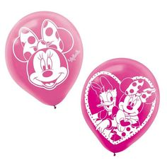 Check out Minnie Mouse 12 Latex Balloons - Discount Balloons from Wholesale Party Supplies