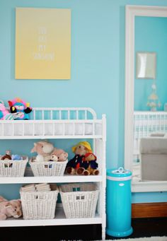 Our baby boy nursery!