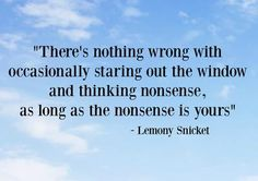 """In celebration of the February birthday of author Daniel Handler — perhaps better known to the world as the writer behind the character of Lemony Snicket and the """"Series of Unfortunate Events"""". Poetry Quotes, Book Quotes, Words Quotes, Wise Words, Me Quotes, Sayings, People Quotes, Lemony Snicket, Senior Quotes"""
