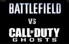 Cod Ghost vs Battlefield 4 – Quem irá ganhar?