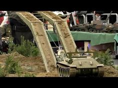 RC scale military vehicles in action. Event: Intermodellbau Dortmund Germany April 2016 More movies from the Intermodellbau Fai.