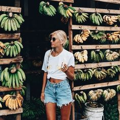 travel to a farmers market and buy organic fresh fooooods