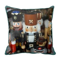 Christmas Nutcrackers Pillows