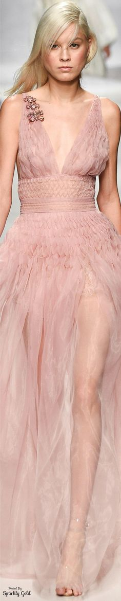 Pinky Pleasures With Ermanno Scervino ~Spring 2017 RTW Collection