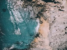 Hidden Beach by Airpixels #nature #travel #traveling #vacation #visiting #trip #holiday #tourism #tourist #photooftheday #amazing #picoftheday