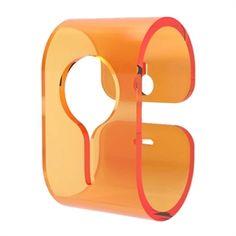 Neon Living - B-Hooked, knage i orange (2 knager i en æske)