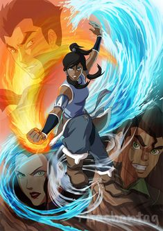 Legend of Korra by *Risachantag on deviantART