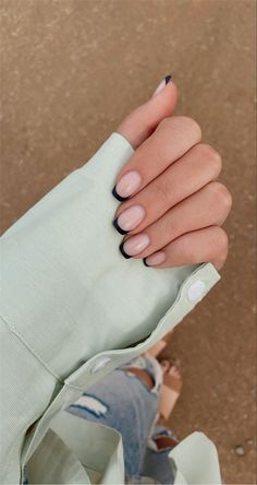 30 Gorgeous French Tip Nail Designs For Your Inspiration - Women Fashion Lifestyle Blog Shinecoco.com
