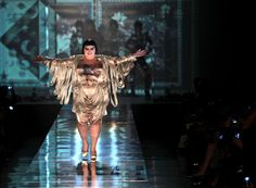 Flashback of Fabulousness! Beth Ditto, destroys runway stereotypes by closing out Jean-Paul Gaultier 2011 Spring-Summer Ready-to-wear Fashion Show.