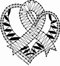 Bobbin Lacemaking, Bobbin Lace Patterns, Lace Heart, Lace Jewelry, Crochet Diagram, Needle Lace, Lace Making, Lace Design, Simple Art