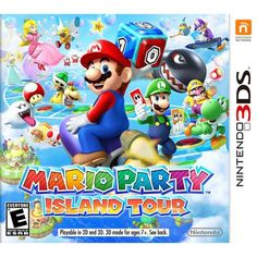 Bring your friends and family together for a rollicking time with Mario Party Island Tour for Nintendo In single player mode or up to 4 players it offers 7 exciting game boards and 80 minigame challenges. Mario Party Island Tour Pre-Owned Nintendo Playstation, Xbox, Nintendo 3ds Games, Nintendo 2ds, Nintendo Switch, Donkey Kong, Wii U, Yoshi, Naruto Shippuden Ultimate Ninja