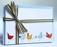 Chicken design cards chicken thank you cards by JacMacDesigns Thank You Notes, Thank You Cards, Correspondence Cards, Design Cards, Send A Card, Say Hi, Blank Cards, All Design, Make You Smile