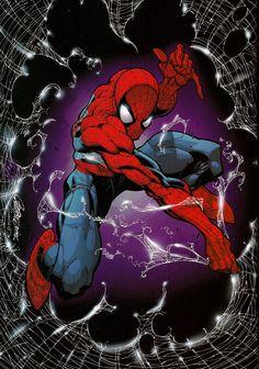 """rockofeternity: """" Spider-Man — J. Scott Campbell """""""