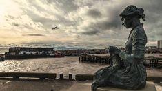 Bay of Refuge sculpture unveiled at Bridlington Harbour