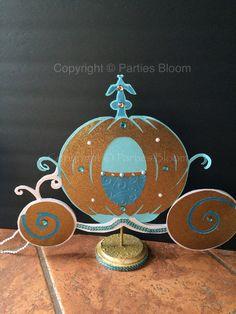 New 2015 Cinderella Pumpkin Carriage Centerpiece by partiesbloom Cinderella  Party Decorations ba6eb9fef