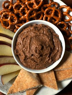 This Chocolate Hummus is seriously magical. Would you believe five simple, healthy ingredients could transform into such a luscious, creamy, totally addictive, chocoholic-worthy dip? It's true! I have a confession to make: last year, when I was pregnant, I had a serious appetite for Cheddar and Sour Cream-flavored Ruffles. There's nothing wrong with pregnancy junk...Read More »