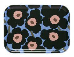Marimekko Unikko (Mini) Tablett 27x20 cm limitiert