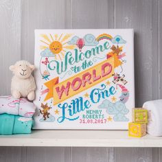 Emma Congdon's baby sampler in Cross Stitch Crazy issue 234 has all your favourite nursery rhyme characters! xx