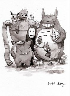 Image result for studio ghibli fanart