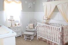 pink greybaby room | Pink And Grey Baby Rooms