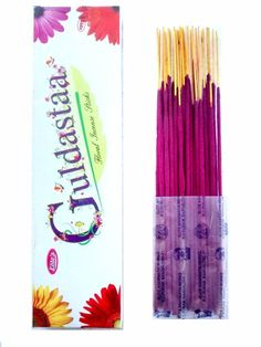 Elite Guldastaa Agarbatti or Incense stick is hand rolled masala agarbatti. It contains strong fragrance which demands everyone's attentions.