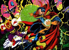 Image discovered by Silvana Fernandes. Find images and videos about Marvel, doctor strange and stephen strange on We Heart It - the app to get lost in what you love. Marvel Doctor Strange, Doctor Strange Villains, Dr Strange, Ms Marvel, Marvel Dc Comics, Anime Comics, Marvel Heroes, Marvel Avengers, Comic Movies