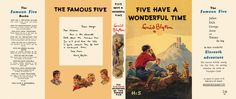 Five Have a Wonderful Time. Enid Blyton.