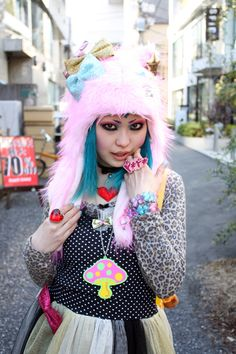 Kawaii Decora Harajuku Girl
