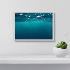 Ocean Print, Ocean Poster, Ocean Wall Art, Digital Print, Nature Photography, Digital Wall Art, gift for her, Digital Art, Home Decor by WallArtAddict on Etsy