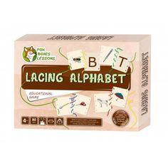 Nawlekany Alfabet - Lekcje Liska Boni // Lancing Alphabet- Fox Boni's Lessons