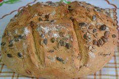 Mi Diversión en la cocina: Pan rápido con pipas y piñones