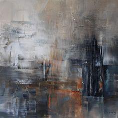 umj.art - Ulla Maria Johanson: 2017-10-13 #1068OrdinaryAcrylic on board, 20x20 c...
