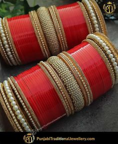 Punjabi Bridal Chura - New Design Bridal Chura Best Price Online Indian Wedding Jewelry, Indian Bridal, Indian Jewelry, Indian Bangles, Bridal Bangles, Bridal Jewelry, Chuda Bangles, Wedding Chura, Wedding Veils