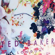 TED BAKER Floral-print Ikon shopper (Coral