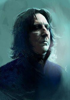 Snape by kittrose on @DeviantArt