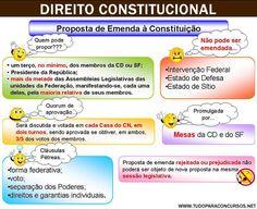 Concursos Resumidos: Direito Constitucional em Mapa Mental