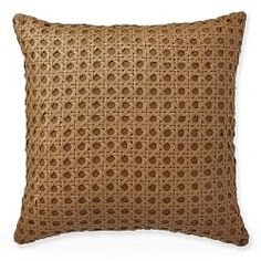 Leather Accent Pillows | Williams Sonoma
