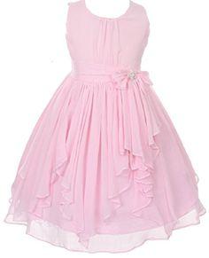 Fashion plaza dresses for girls blue