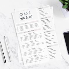 High quality, elegant resume template. We are creating modern and easy to customize resumes that help you make a great impression when applying for your dream job. Stand out from the crowd with our professional designs.