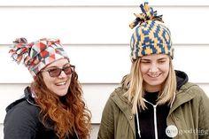 5-Minute Fleece Hats - One Good Thing by JilleePinterestFacebookPinterestFacebookPrintFriendly
