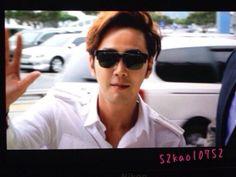 Jang Keun Suk :: ICN Airport arrival from Beijing 04.27.2014