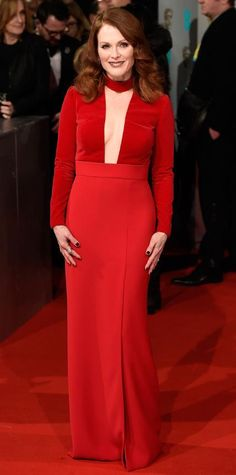 See the Looks from the 2015 BAFTAs Red Carpet - Julianne Moore from #InStyle