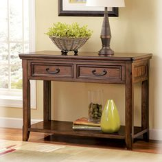 FREE SHIPPING! Shop Wayfair for Signature Design by Ashley Woolwich Console Table - Great Deals on all Furniture products with the best selection to choose from!