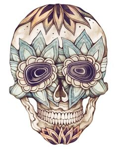 Image detail for -sugar skull # beautiful art # skull # sugar skulls