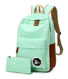Keshi Canvas Cool Backpack Bag, Fashion Cute Lightweight Backpacks for Teen Young Girls Green Keshi http://www.amazon.com/dp/B01BWO0TBM/ref=cm_sw_r_pi_dp_ejf9wb0JBHG48