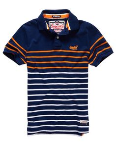 Superdry Polo Chest Band Breton Más