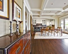Luxurious Home Decoration to Your House: Fabulous Open Floor Plan Interior Mercer Island Waterfront Estate