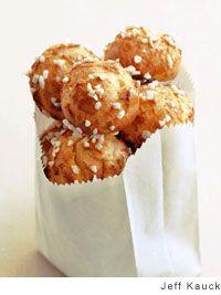 Cream Puffs with Pearl Sugar Recipe |